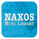 Naxos Music Library icon links to online music collection
