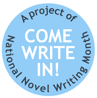 NaNoWriMo-Come-Write-In-Logo