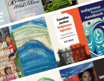 Image links page for learning more about Indigenous lives and experiences with reading lists & resources