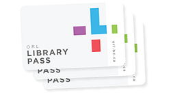 Image links to library card registration page